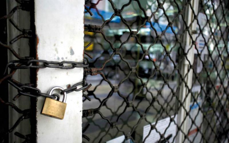 Θλίψη: Ακόμη περισσότερες κλειστές επιχειρήσεις το 2016!