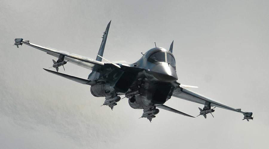 Sukhoi-34 jet