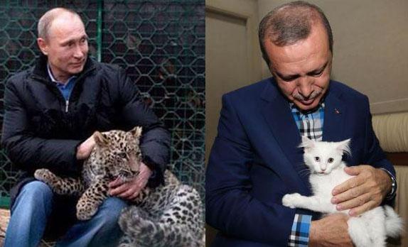 """Αυτή είναι η κίνηση του Πούτιν που…""""έσπασε τον τσαμπουκά"""" του Σουλτάνου Ερντογάν! (φωτο)"""