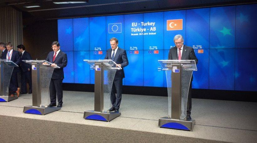 Ολοκληρώθηκε η Σύνοδος Κορυφής-Σχέδιο δράσης για το ΛΑΘΡΟμεταναστευτικό συμφώνησαν ΕΕ-Τουρκία