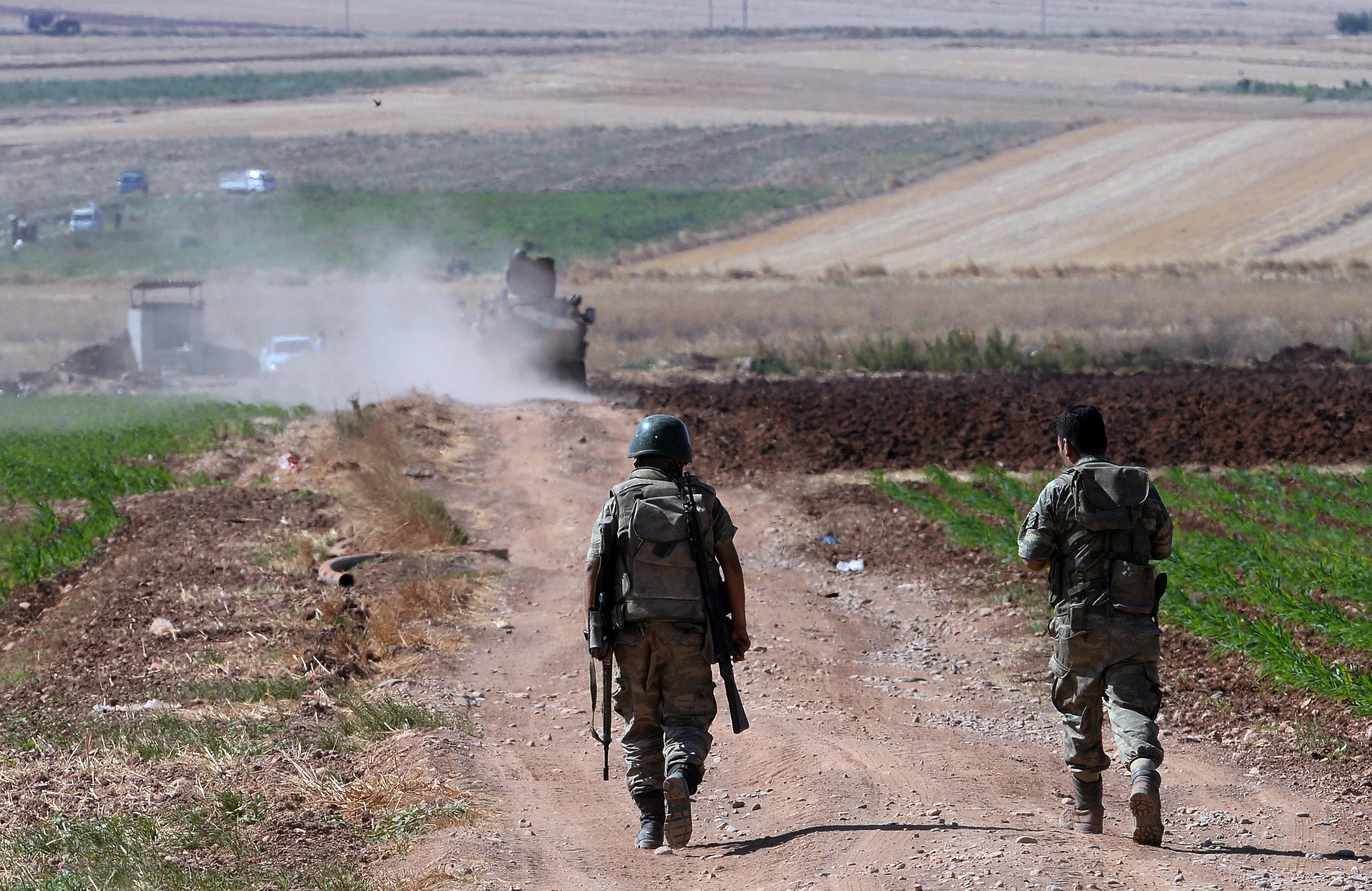 Turkey Syria Airstrikes
