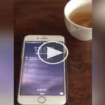 Δείτε τι συμβαίνει στο κινητό κάποιου που έχει 8.000.000 followers! (BINTEO)