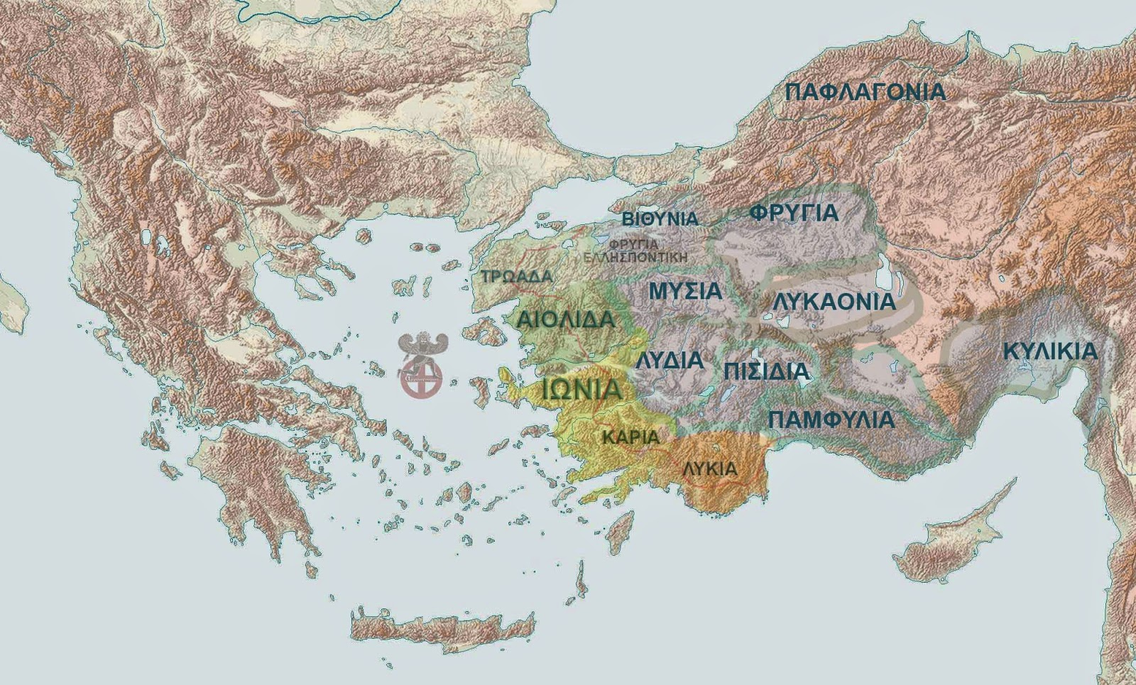 ANOIGMA-ΧΑΡΤΗΣ ΕΛΛΗΝΙΚΗΣ ΧΕΡΣΟΝΗΣΣΟΥ-ΜΙΚΡΑΣ ΑΣΙΑ