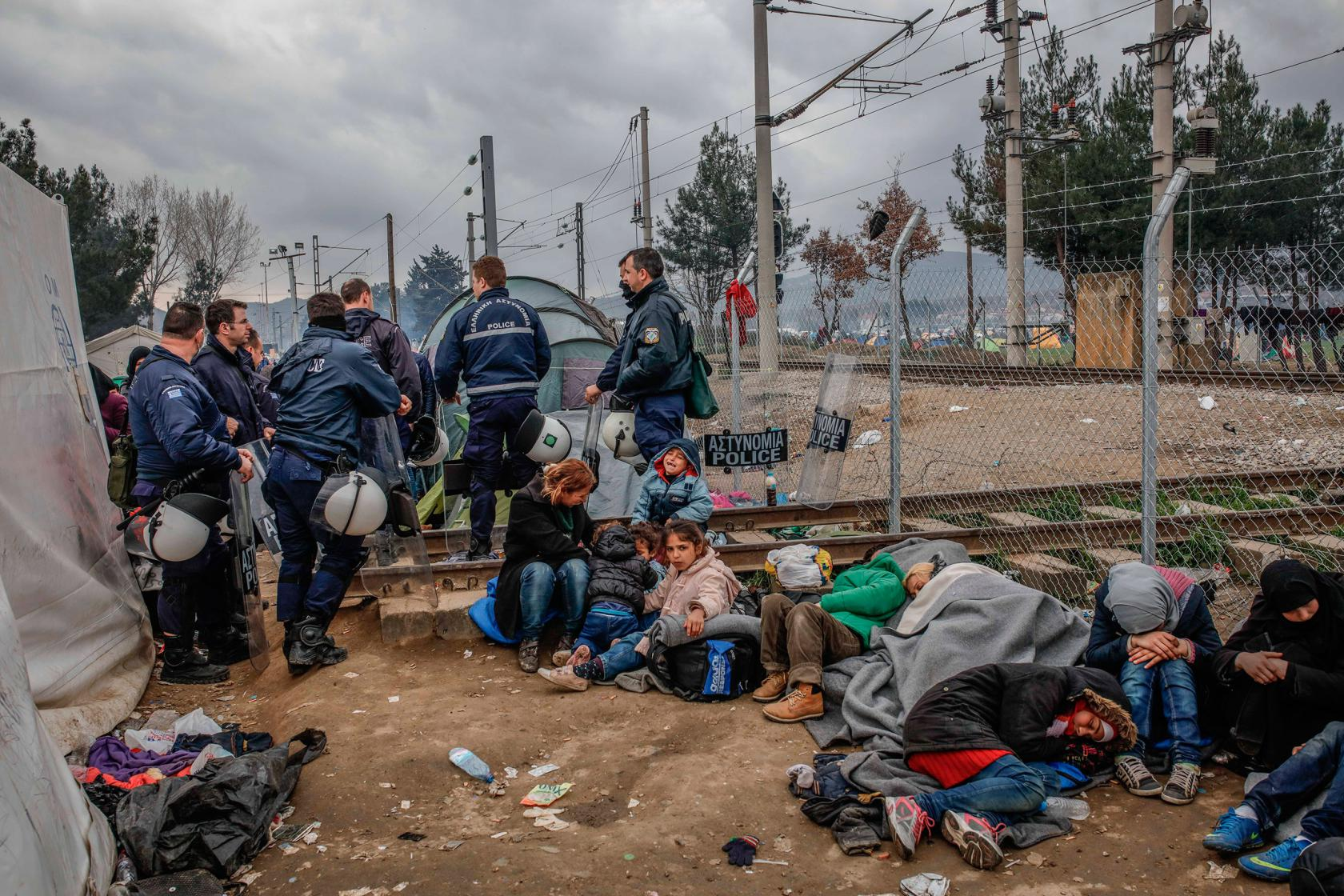 Greece: Refugees in Idomeni