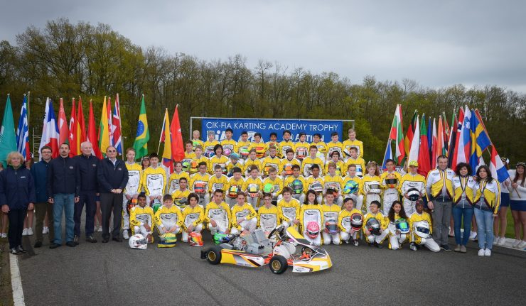 Karting, , , , , , CIK-FIA EUROPEAN KZ & KZ2 CHAMPIONSHIPS (Round 1) & CIK-FIA KARTING ACADEMY TROPHY (Round 1), AUNAY-LES-BOIS, FRANCE, International Race, © KSP Reportages