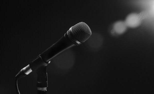 mikrofono tragoydistis