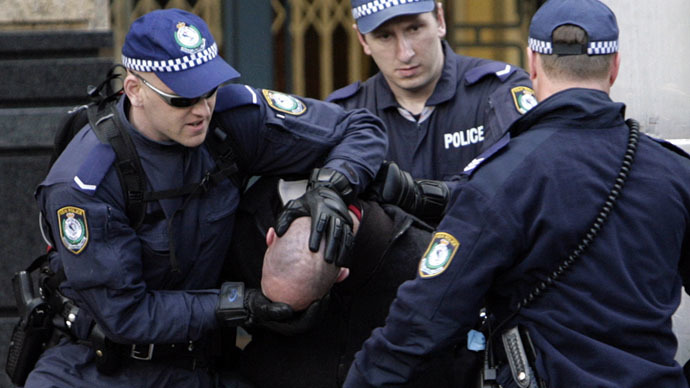 police-brutality-australia-woman