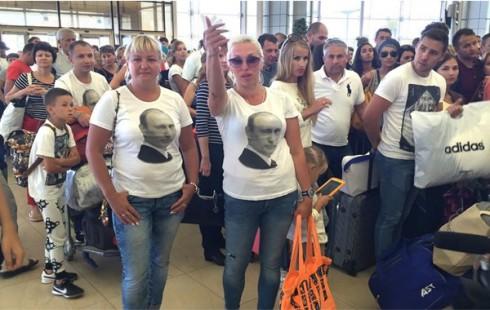 Αποτέλεσμα εικόνας για Ρώσοι τουριστες