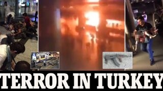 NEEDS VERIFICATION BEFORE RUNNING   Pictures supposedly from Istanbul airport   From social media, sources unknown