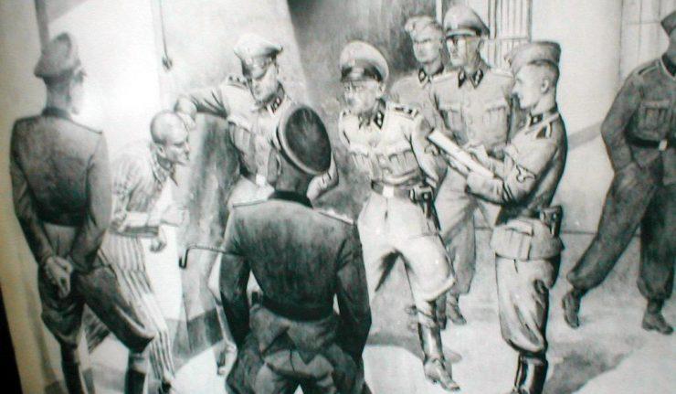 Nazis torture