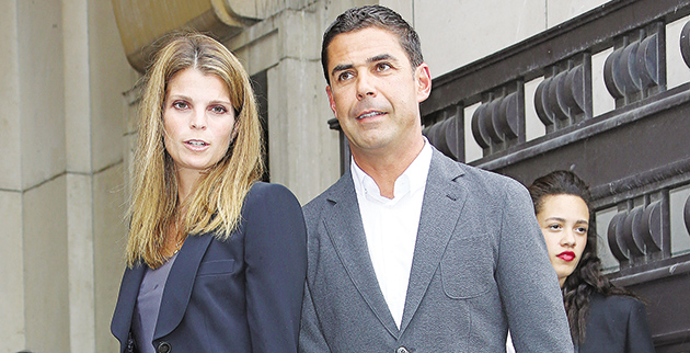 Giorgio Armani Prive show Arrivals in Paris.  7/7/2015  Pictured: Athina Onassis and her husband Alvaro de Miranda Neto Ref: SPL1072072  070715   Picture by: KCS Presse / Splash News  Splash News and Pictures Los Angeles:310-821-2666 New York:212-619-2666 London:870-934-2666 photodesk@splashnews.com