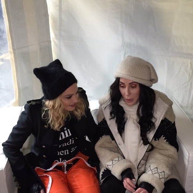 madonna-cher-women-march