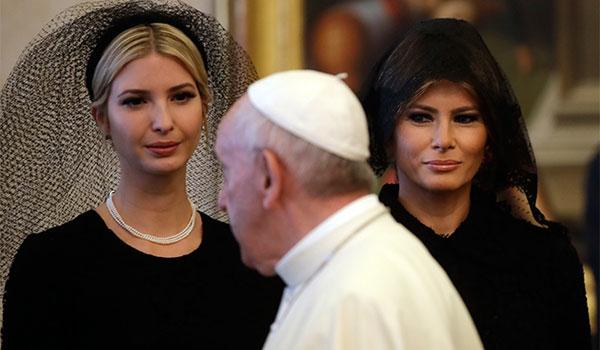 τραμπ βατικανο