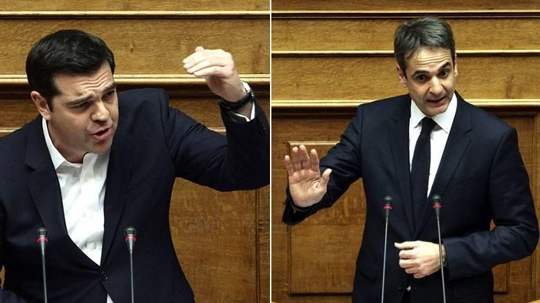 mitsotakis-tsipras-vouli