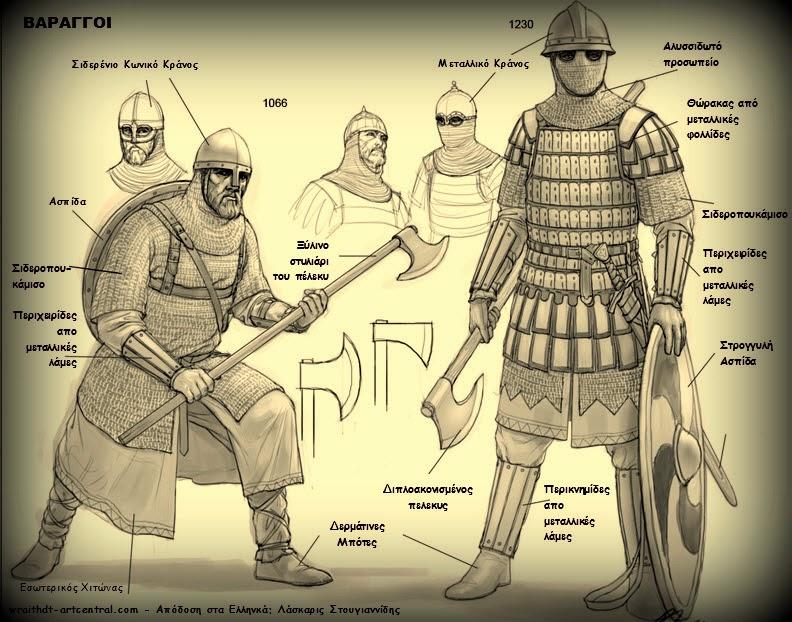 Βαράγγια φρουρά του Βυζαντίου