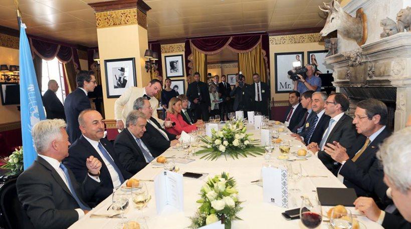 ΤΊΝΑΞΑΝ ΤΑ ΠΑΝΤΑ ΣΤΟΝ ΑΕΡΑ! Κατάρρευση των συνομιλιών για το Κυπριακό με ευθύνη της Τουρκίας