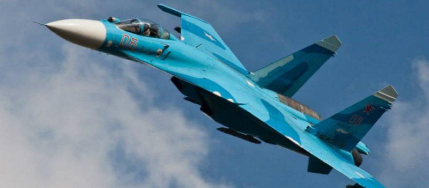 Un Su27 russe affronte un F16 US dans le ciel du Nevada