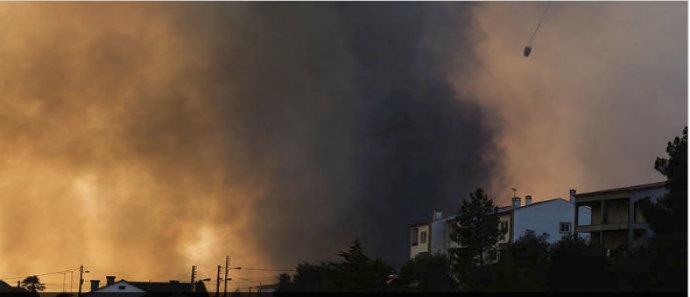 ΠΟΛΥ ΚΡΙΜΑ! Σκοτώθηκε πιλότος πυροσβεστικού αεροπλάνου στη Πορτογαλία