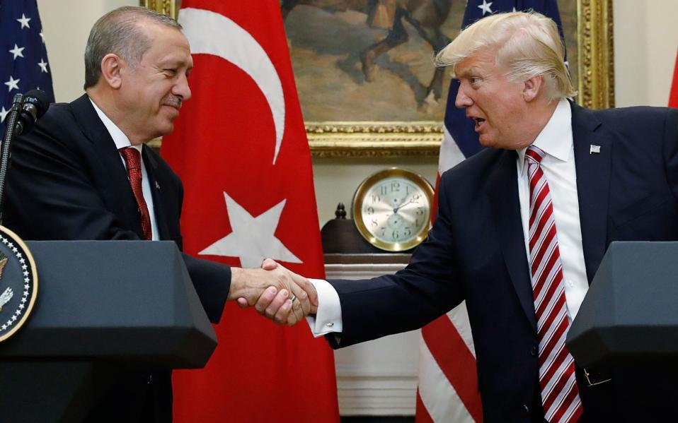 Τραμπ και Ερντογάν