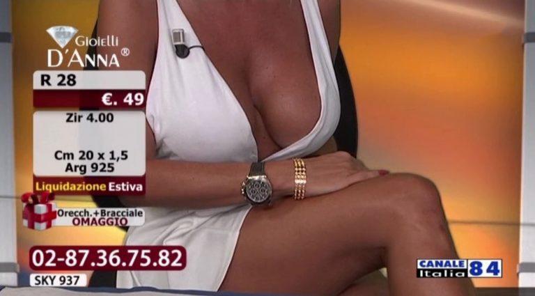 Emanuela-Botto-Boobs-Sexy-White-Dress-Kanoni-7-768x425
