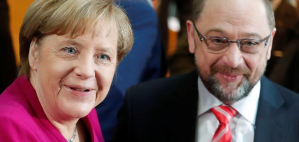 CDU-leader-and-acting-German-Chancellor-Merkel-and-SPD-leader-Sch