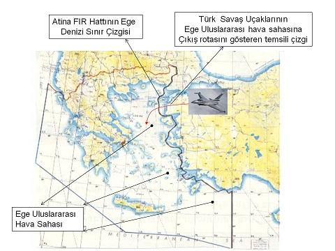 Ege-ve-Atina-FIR-Açıklamalı-Harita