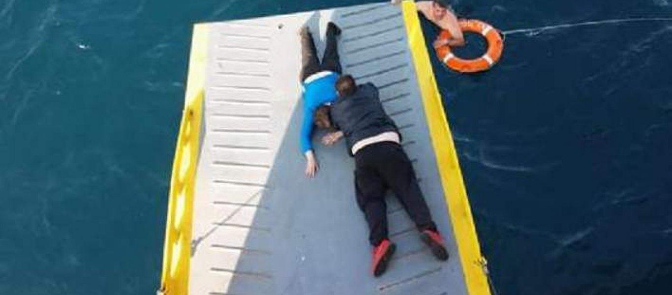 Αποτέλεσμα εικόνας για Απίστευτη διάσωση: 69χρονη βρέθηκε στην θάλασσα πέντε μίλια από τον Πειραιά