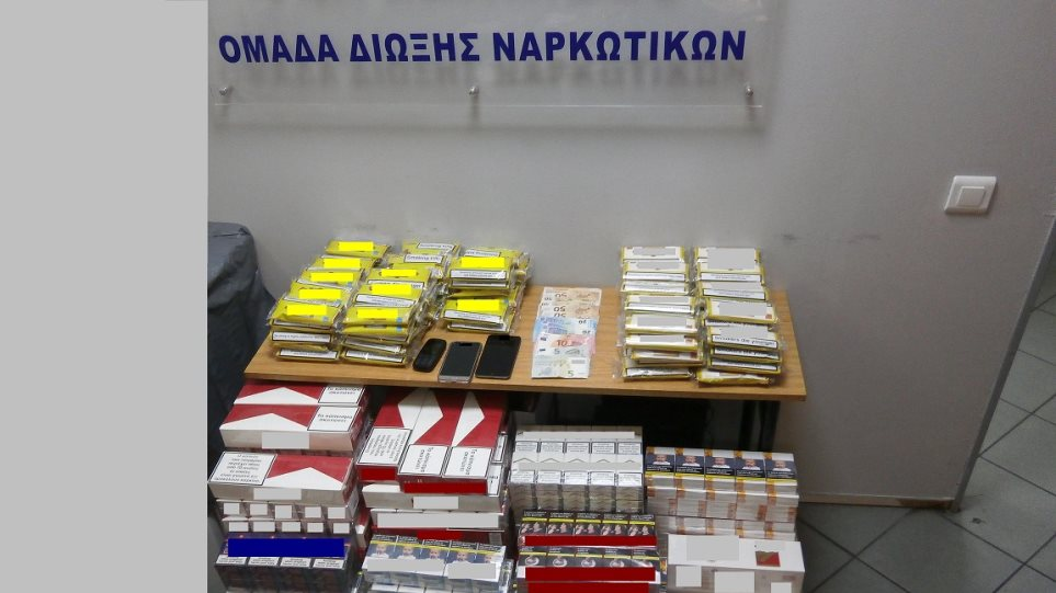 Χιλιάδες λαθραία πακέτα τσιγάρων και καπνού στην Εύβοια