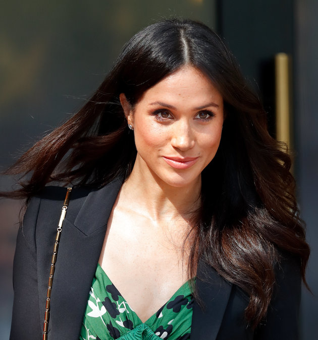 LONDON, UNITED KINGDOM - APRIL 21: (EMBARGOED FOR PUBLICATION IN UK NEWSPAPERS UNTIL 24 HOURS AFTER CREATE DATE AND TIME) Meghan Markle attends an Invictus Games Reception at Australia House on April 21, 2018 in London, England. (Photo by Max Mumby/Indigo/Getty Images)