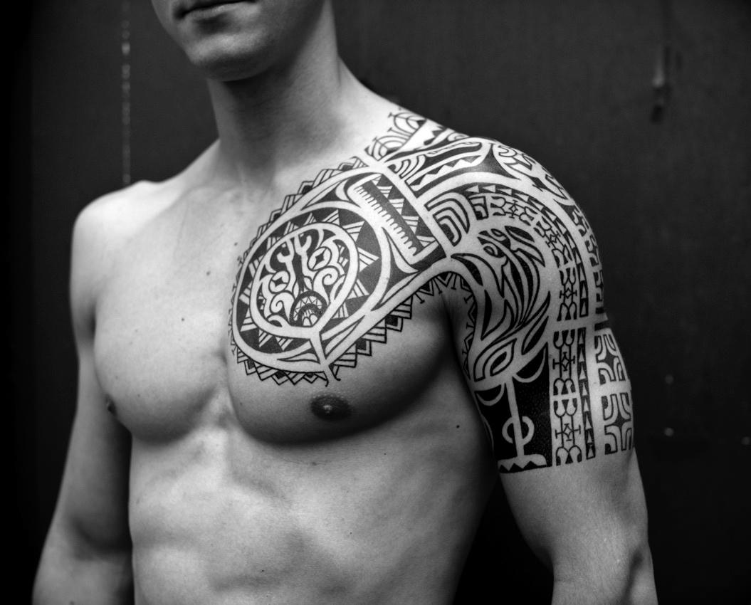 half-tattoo-sleeve-tribal