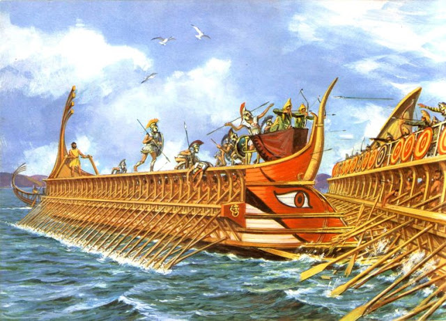 Νυν υπέρ πάντων ο αγών». Η ναυμαχία της Σαλαμίνας και η ...