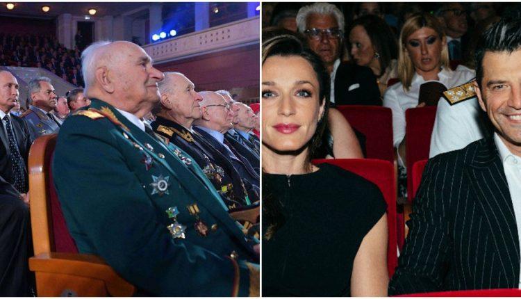 Αποτέλεσμα εικόνας για Όταν ο Πούτιν κάθεται πίσω από τους βετεράνους και ο Ρουβάς μπροστά από τους Αρχηγούς…