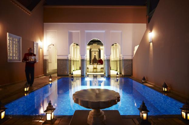 riad-la-mamounia-pool-night-marrakech