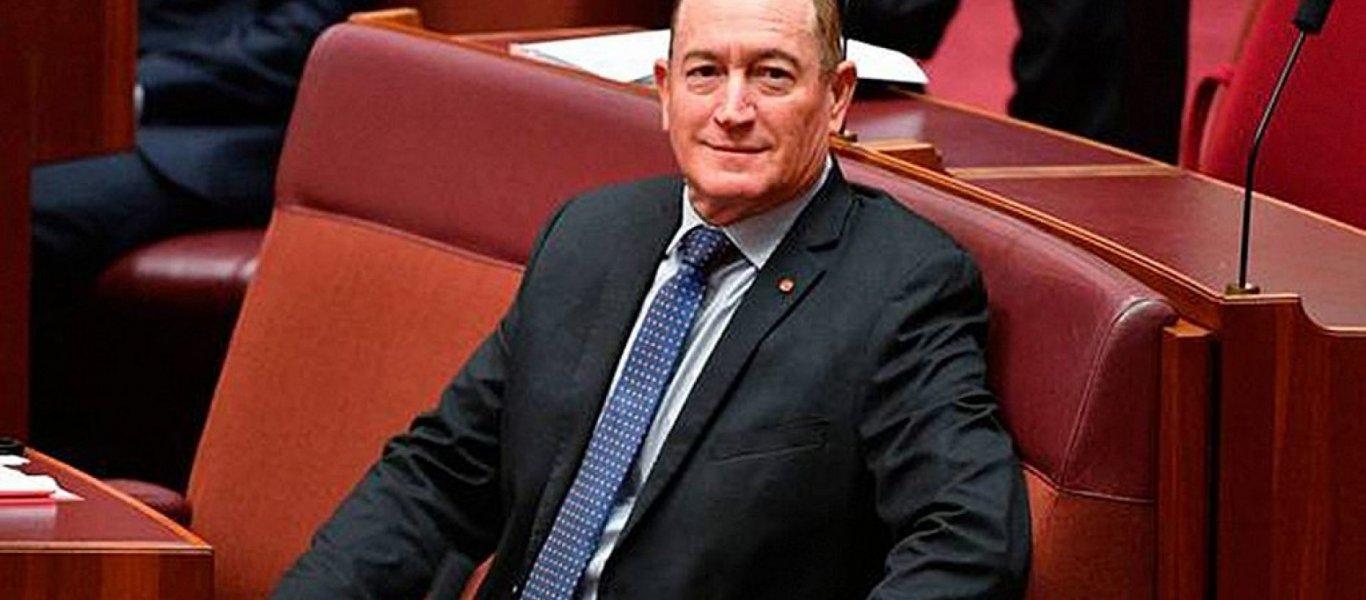 Senator Fraser Anning Update: Άστραψε και βρόντηξε Αυστραλός Γερουσιαστής: «Ο ένοχος για