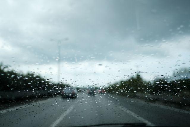 Rainfall in Thessaloniki, Greece on April 20, 2019. / Βροχόπτωση στη Θεσσαλονίκη, 20 Απριλίου 2019.