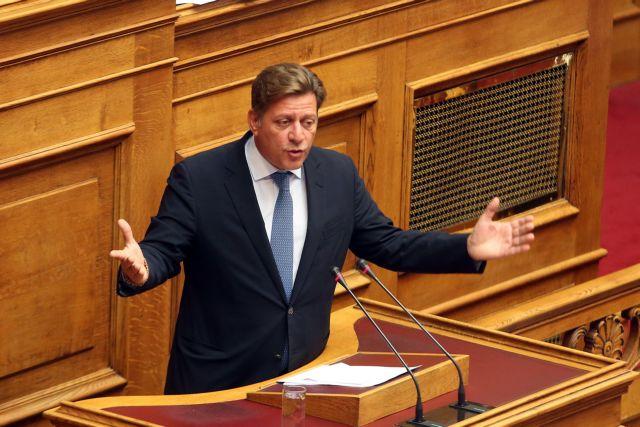 Ο βουλευτής της ΝΔ Μιλτιάδης Βαρβιτσιώτης  μιλά στην Ολομέλεια της Βουλής στη συζήτηση επίκαιρων ερωτήσεων προς την Κυβέρνηση, Παρασκευή 22 Σεπτεμβρίου 2017. ΑΠΕ-ΜΠΕ/ΑΠΕ-ΜΠΕ/Αλέξανδρος Μπελτές