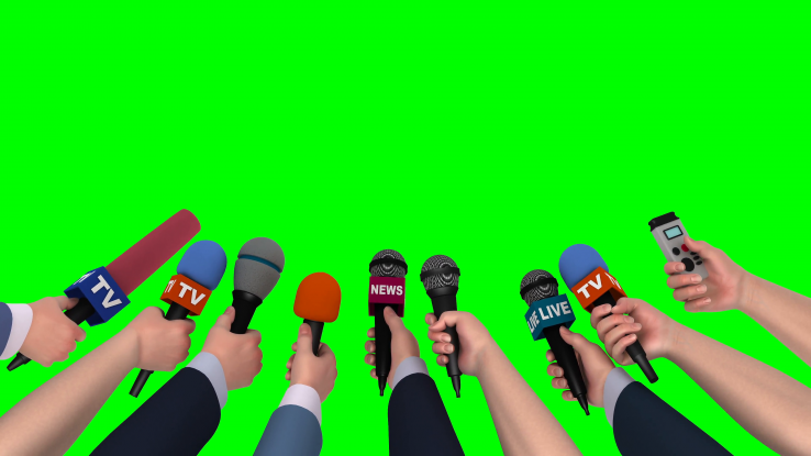 microphones-in-the-hands-of-journalists-on-green-background-3d-animation_bs6flsqu_f0014