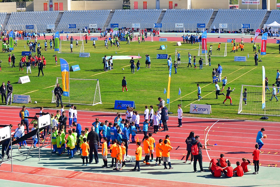 Φεστιβάλ Αθλητικών Ακαδημιών ΟΠΑΠ στην Πάτρα