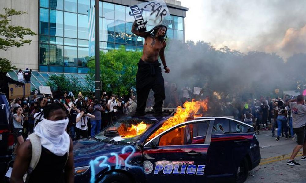 διαδηλώσεις στο Ντιτρόιτ