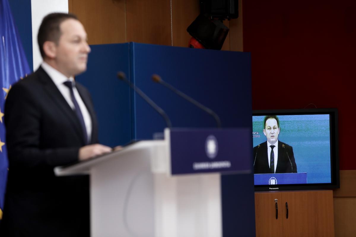 Ανακοίνωση ανασχηματισμού από τον κυβερνητικό εκπρόσωπο, Στέλιου Πέτσα, Γενική Γραμματεία Ενημέρωσης, Αθήνα, 4 Αυγούστου 2020.