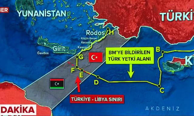 συμφωνία με την Λιβύη