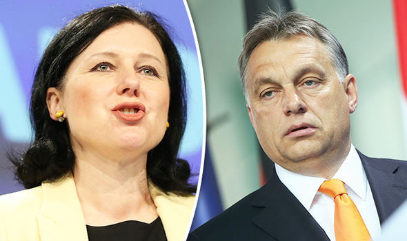 Viktor-Orban-and-Vera-Jourova-790815