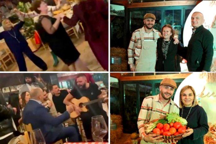κορονοϊός-πάρτι-Αλβανία-ηθοποιός-προέδρος-Ιλίρ-Μέτα