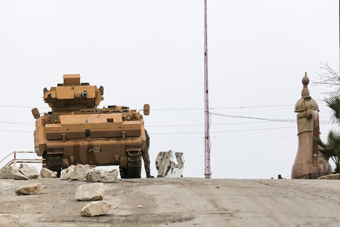 SYRIA TURKEY CONFLICT