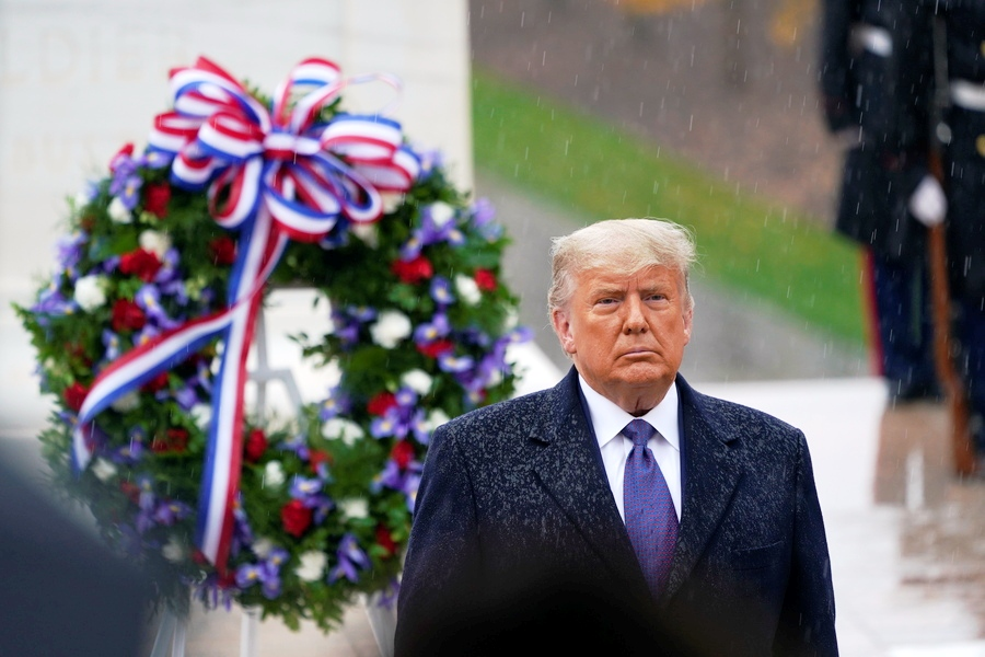 USA GOVERNMENT TRUMP VETERANS DAY