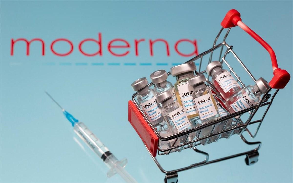 εμβόλιο της Moderna