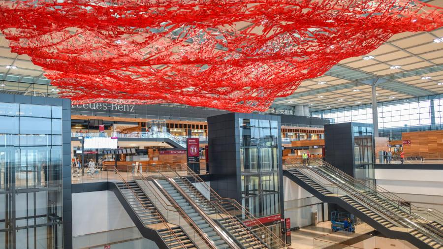νέο αεροδρόμιο του Βερολίνου