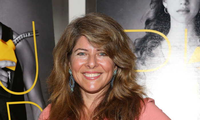 """NEW YORK, NY - SEPTEMBER 17:  Naomi Wolf attends """"Pump"""" New York Screening at Museum of Modern Art on September 17, 2014 in New York City.  (Photo by Robin Marchant/Getty Images)"""