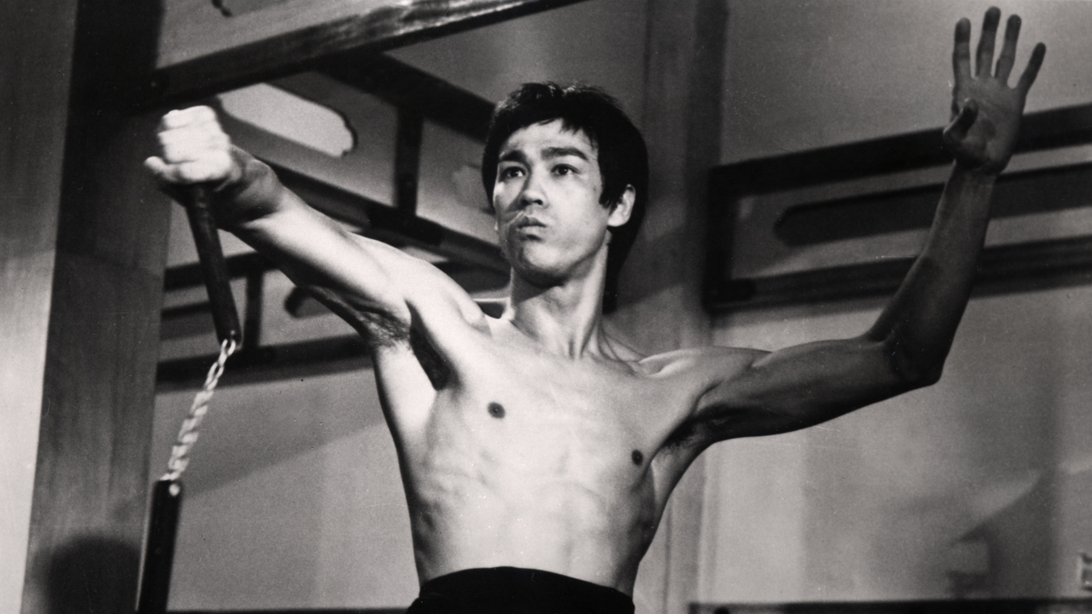 Editorial use only. No book cover usage. Mandatory Credit: Photo by Golden Harvest/Kobal/REX/Shutterstock (5862488a) Bruce Lee Fist Of Fury / Chinese Connection - 1972 Director: Lo Wei Golden Harvest HONG KONG Scene Still Action/Adventure Jing Wu Men La Fureur de vaincre