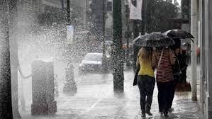 καιρος βροχη